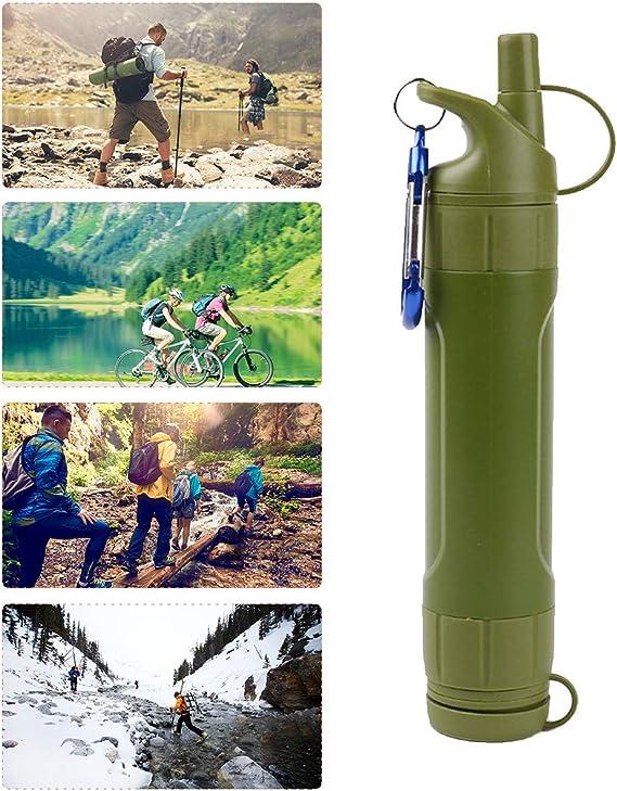 AUVSTAR Filtro de Agua Personal,purificación de Agua portátil ...