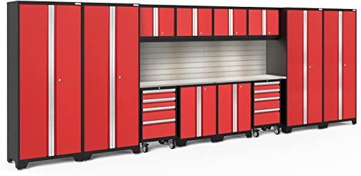 Newage Products Bold Series 3 0 14 Piece Set Garage Cabinets