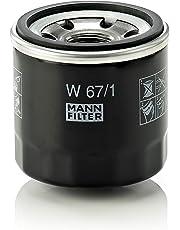 Original MANN-FILTER Ölfilter W 67/1 – Für PKW und Nutzfahrzeuge