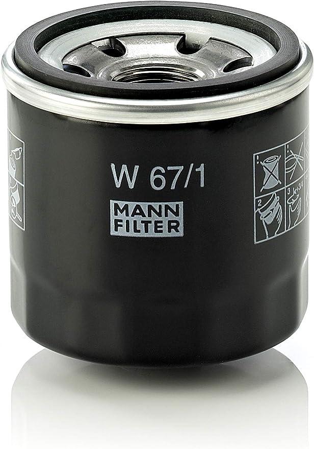 Original Mann Filter Ölfilter W 67 1 Für Pkw Und Nutzfahrzeuge Auto