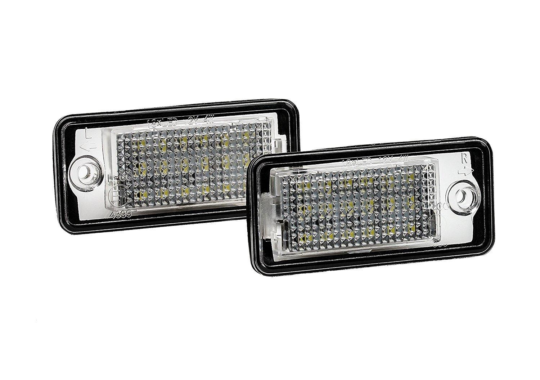 Inlink LPL-2 Led Kennzeichenbeleuchtung Auto Nummernschilder Licht A4//S4//RS4//A5//A6