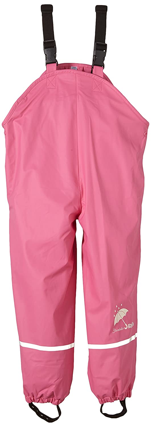 Sterntaler Children's Rain Trousers, Lined, Age: 5-6 Years, Size: 116, Pink 5651445