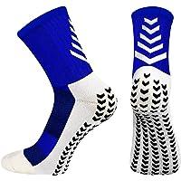 BTNEEU 2 Pares Calcetines Deportivos Antideslizantes Transpirable Calcetines de Fútbol Hombre Cómodo Calcetines Deporte…