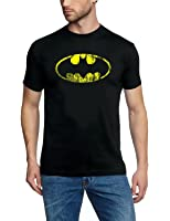 Coole-Fun-T-Shirts T-Shirt Batman Vintage Logo