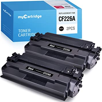 Black-6 Pack ONLYU Compatible Toner Cartridge Replacement for HP 26A CF226A HP Laserjet Pro M402n M402dn M402dw M402d 402n M402dw HP Laserjet Pro MFP M426dw M426fdw M426fdn
