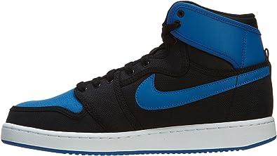 air jordan 1 azul y negras