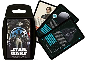 Winning Moves win62592 - Top Trumps: Star Wars - Rouge One ...