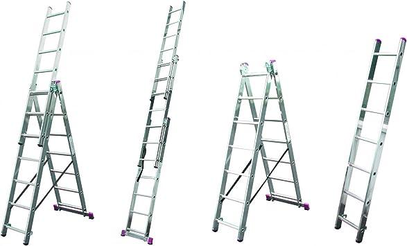 KRAUSE Leitern Krause – corda con función Escaleras – Escalera multiusos Escalera: Amazon.es: Bricolaje y herramientas