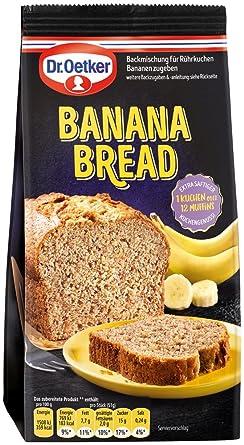 Dr Oetker Banana Bread 400 G Amazon De Lebensmittel Getranke