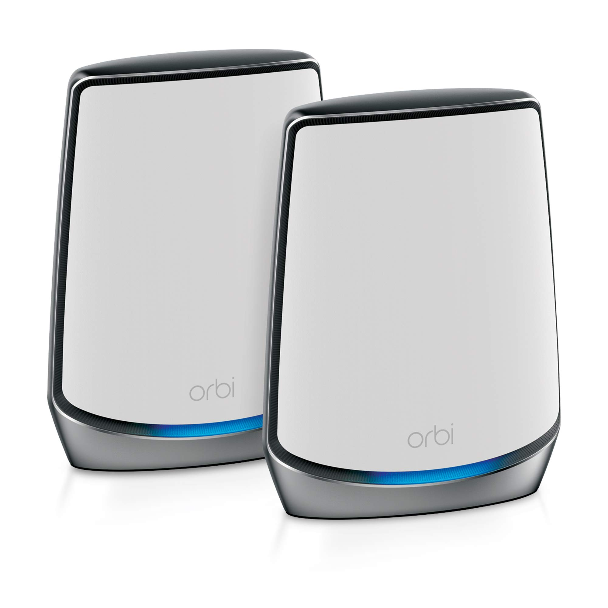 NETGEAR Orbi Whole Home Tri-Band Mesh WiFi 6 System (RBK852) - Router with 1 Satellite Extender | Coverage Up to 5, 000 Sq. ft. and 60+ Devices | Tri-Band AX6000 WiFi (Up to 6Gbps) by NETGEAR