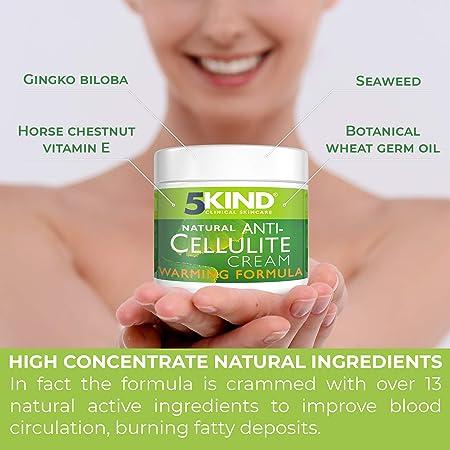 Crema Anticelulitis Y Adelgazante Profesional Tratamiento Para Celulitis Innovador Natural Efecto Calor Bote Grande Mejor Precio.Rutina Quema Grasa Reafirmante Anticelulítica Para Piernas Estómago