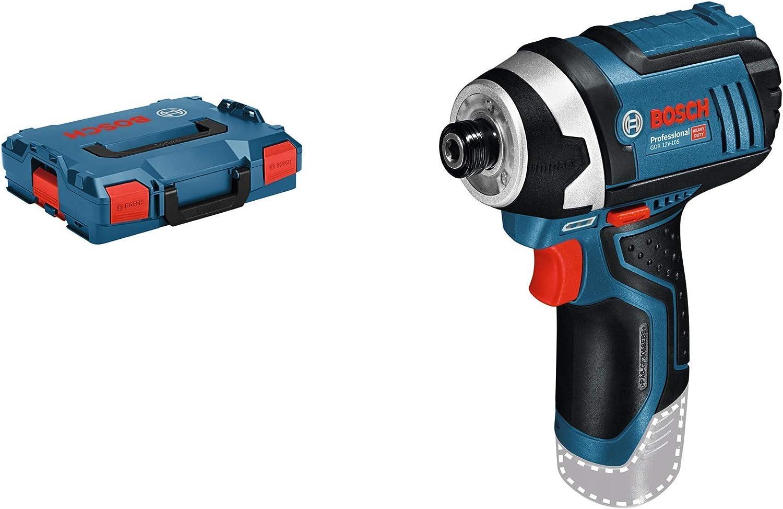Bosch Professional GDR 12V-105 - Atornillador de impacto a batería (12V, 105 Nm, sin batería, en maletín)