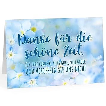 Grosse Abschiedskarte Xxl A4 Vergessen Sie Uns Nicht Blaue Blumen Mit Umschlag Edle Design Klappkarte Rente Pension Ruhestand Verabschiedung Letzt