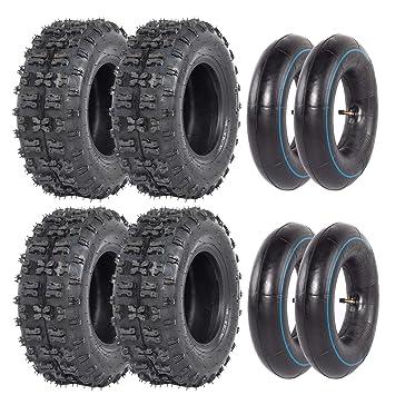 Amazon.com: ZXTDR - Juego de 4 neumáticos y tubo interior ...