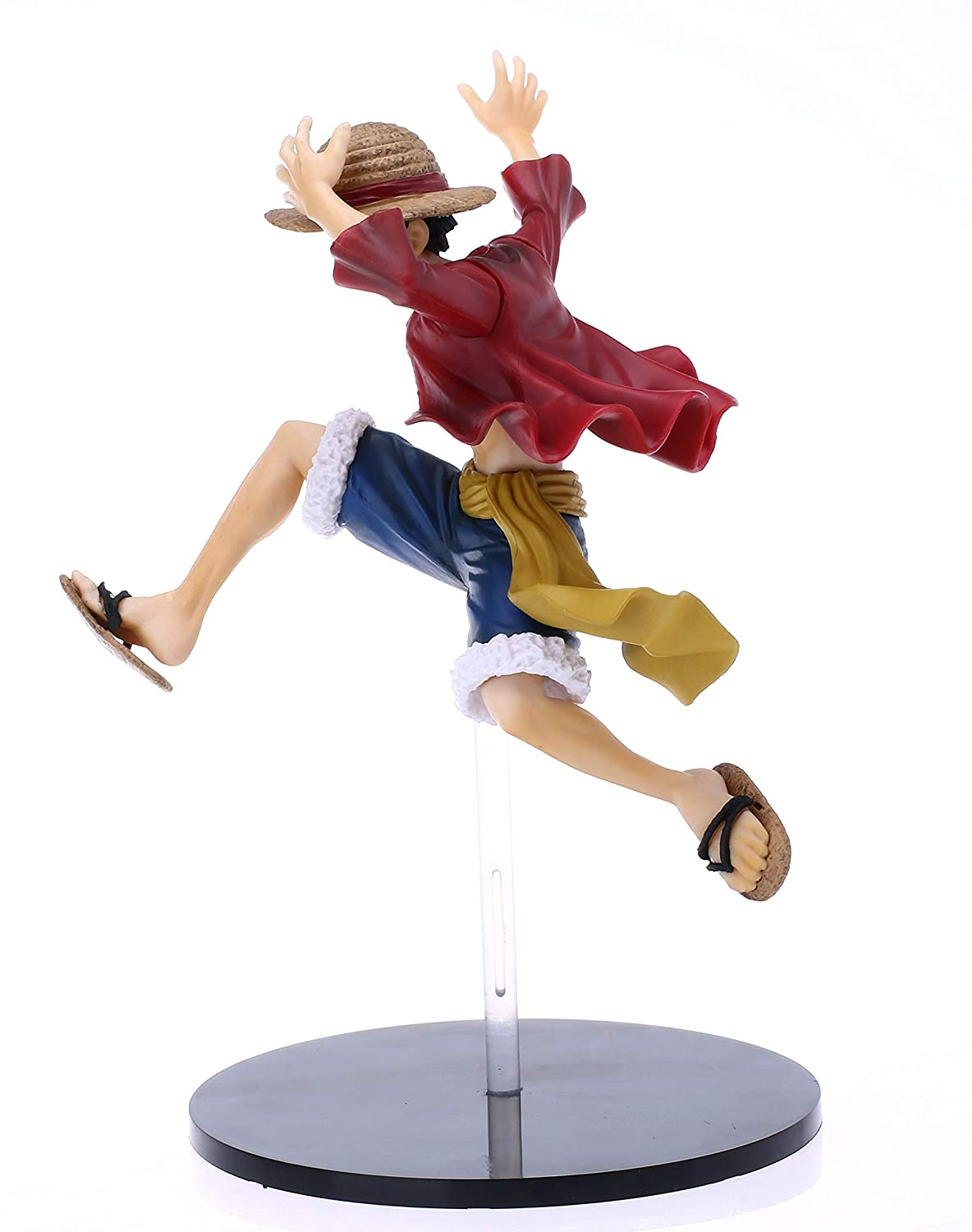 DOMAN One Piece Action Figure Luffy Figure Statues Model Doll Collection Gifts PVC 6.5