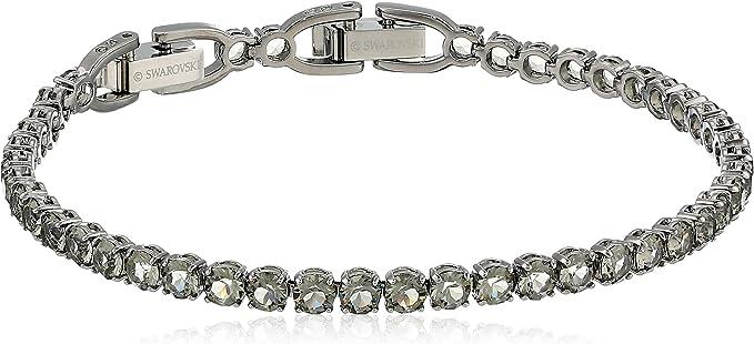 SWAROVSKI Tennis Deluxe Bracelet Black Diamond One Size