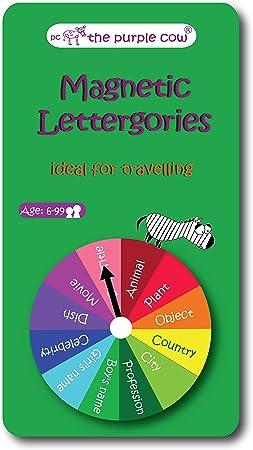 Fournier - Lettergories magnéticos, Juego de Mesa (1034981): Amazon.es: Juguetes y juegos