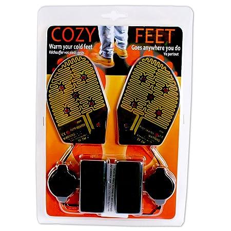 Amazon.com: Cozy Products CF Cozy Feet AA Battery-Powered Reusable ...