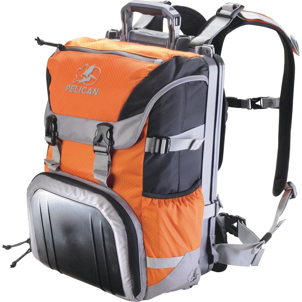 Pelican Products 0S1000-0003-150 ProGear Sport Laptop Backpack for 15-Inch Ultrabooks/17-Inch MacPro/Camera (Orange)