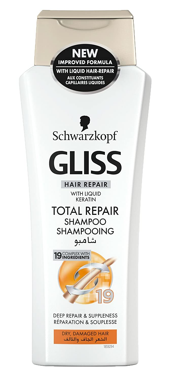 Schwarzkopf Gliss Hair Repair With Liquid Keratin Total Repair Shampoo