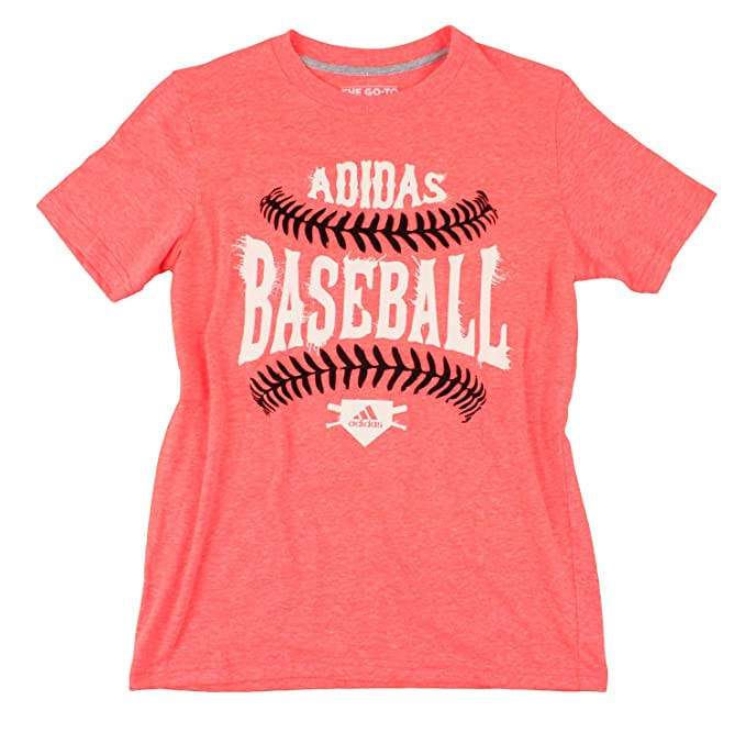 c93843f6 Amazon.com: Adidas Youth Big Boys Baseball Shirt (Medium (10/12 ...