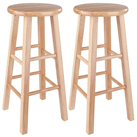 Fantastic Winsome Pacey Stool 29 Natural Ibusinesslaw Wood Chair Design Ideas Ibusinesslaworg