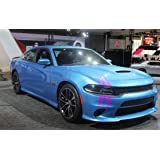 ViaVinyl Claw Marks Headlight Decal Available in Twelve Colors!. Genuine Brand Vinyl Sticker/Decal for Sports Cars (Pink…