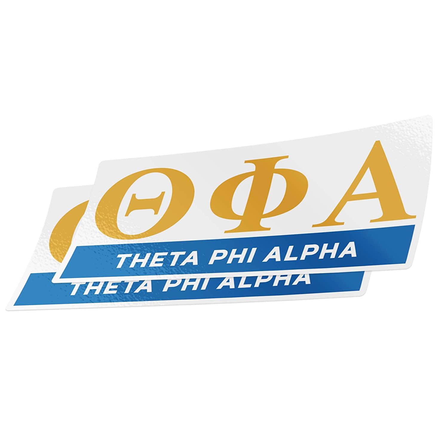 Color//Letter Name Sticker Desert Cactus Theta Phi Alpha 2-Pack Color Letter//Name Sticker Decal Greek for Window Laptop Computer Car Theta phi
