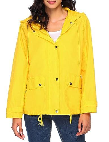 Cindere - Abrigo impermeable - chaqueta guateada - para mujer