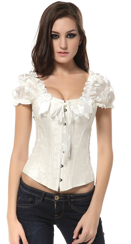 Europe Palace sexy bridal corset steel vest corset bodice polyester corset women's