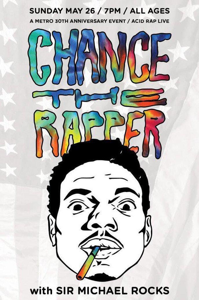 f0c4fb79 Amazon.com: bribase shop Chance the Rapper Acid Rap poster 36 inch x 24  inch: Posters & Prints