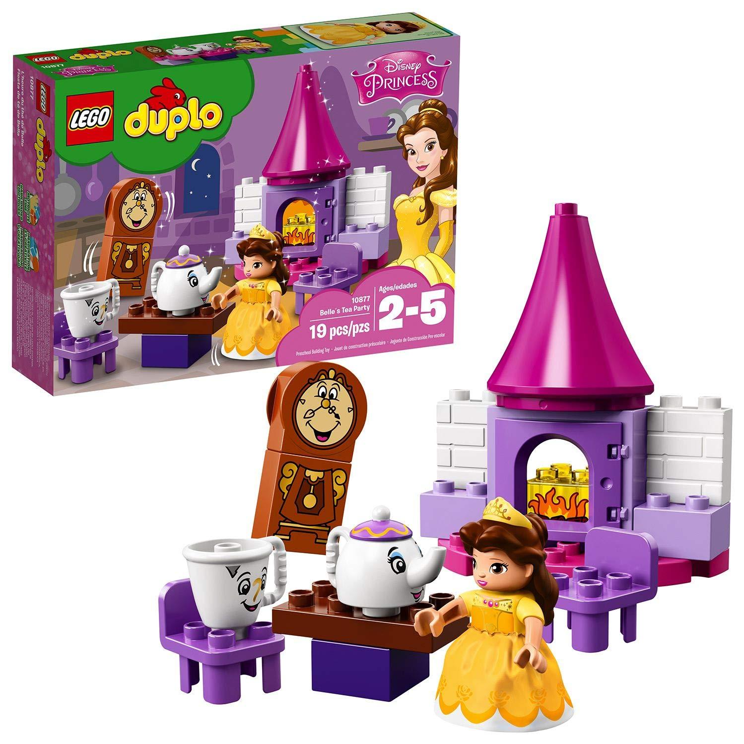 LEGO DUPLO Princesa - Fiesta de Té de Bella, Juguete de ...