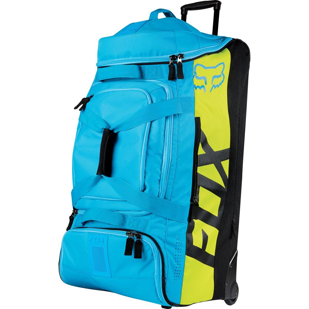 Fox Racing Shuttle Roller Print Sports Gear Bag - Blue/Yellow / One Size