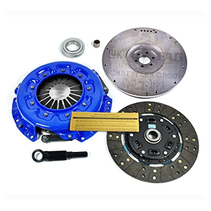 Amazon.com: EF STAGE 2 CLUTCH KIT+ HD FLYWHEEL fits 87-89 NISSAN 300ZX TURBO 3.0L VG30ET Z31: Automotive