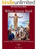 What Jesus Said: Words of Jesus Christ from the New Testament