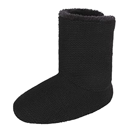 ce96abb335386 Amazon.com: JINTN Unisex Cashmere Slipper Boots Indoor Outdoor Ankle ...