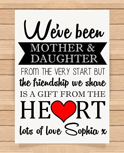 Personalised Presents Gifts For Mum Mummy Mother In Law Mothers Day Birthday Christmas Xmas We