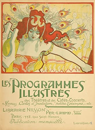 Les Programmes Illustres, by Ernest Maindron Vintage Poster France c. 1897 (9x12 Art