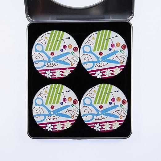 Diseños de costura temática. Pack Design 1 - Tijeras. Paquete de 4 ...