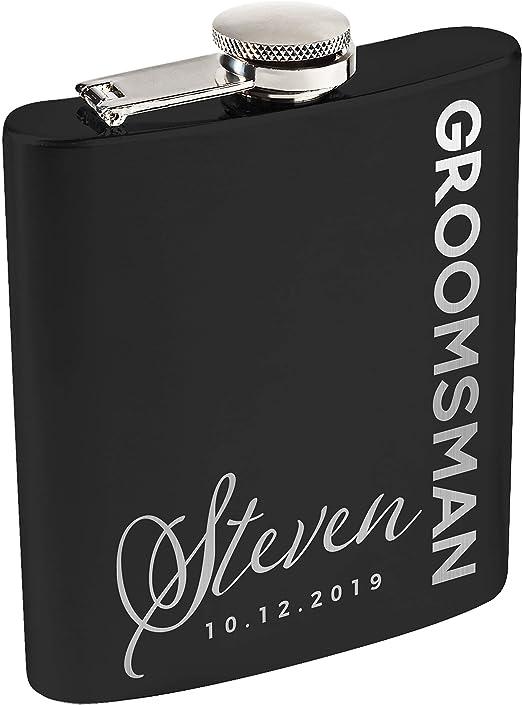 Engraved Black Funny Design Hip Flasks 6oz /& 8oz Individual /& Gift Sets Present