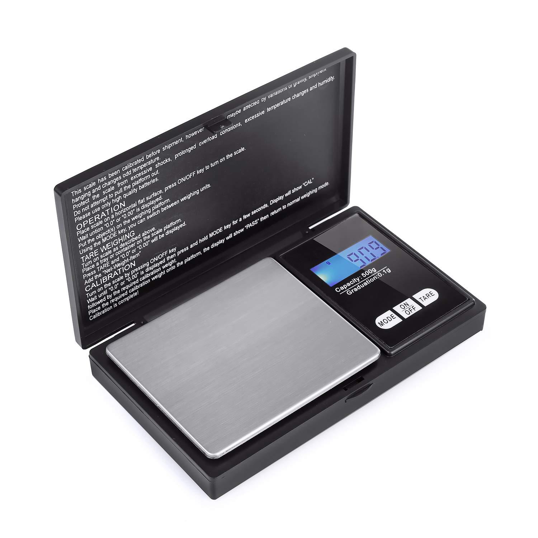200g / 0.01g précision échelle balance de poche numérique de poche, balance de précision, peser échelle de poche échelle de précision des échelles d'or échelle numérique échelles de pièces de monnaie Hongyantech