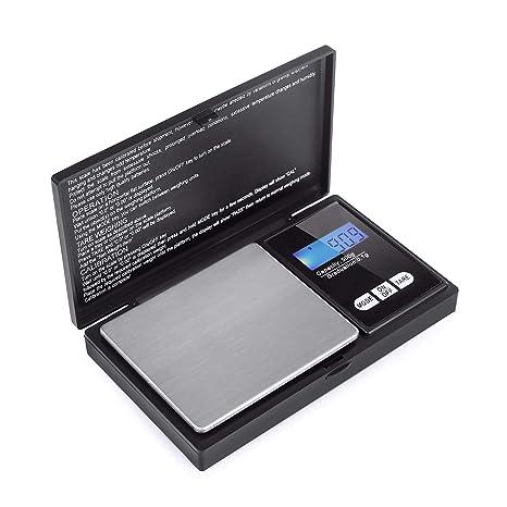 Básculas de bolsillo de precisión 500g / 0,1g Básculas de bolsillo digitales, balanzas