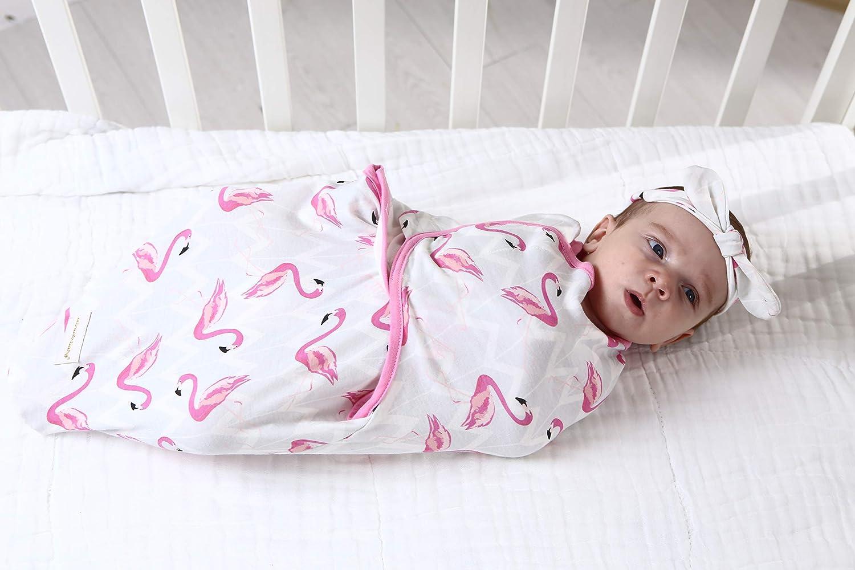 Miracle Baby Swaddle Wrap Manta Envolvente,2Pcs Saco De Dormir Manta 100/% Algod/ón Swaddle Wrap para Reci/én Nacidos