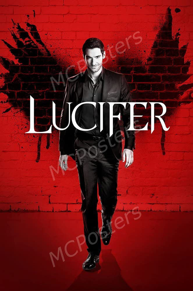 """MCPosters Lucifer TV Show Series Poster GLOSSY FINISH - TVS620 (24"""" x 36"""" (61cm x 91.5cm))"""
