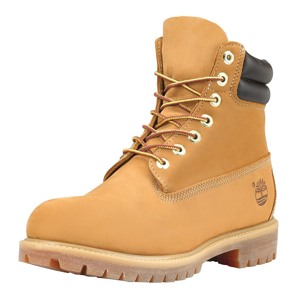 Timberland 6-Inch Waterproof Boot 73540 Wheat Nubuk, Schuhe Unisex:41.5