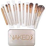 Makeup Brushes Set - Professional Bamboo Handle Kabuki Makeup Brush Foundation Blending Blush Powder Brush Cosmetics Brushes Set with Box