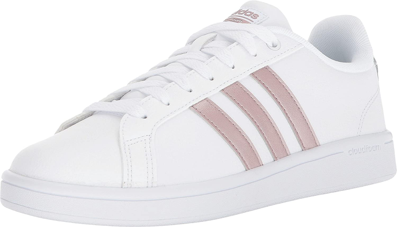 White Vapour Grey White adidas Women's CF Advantage Sneakers