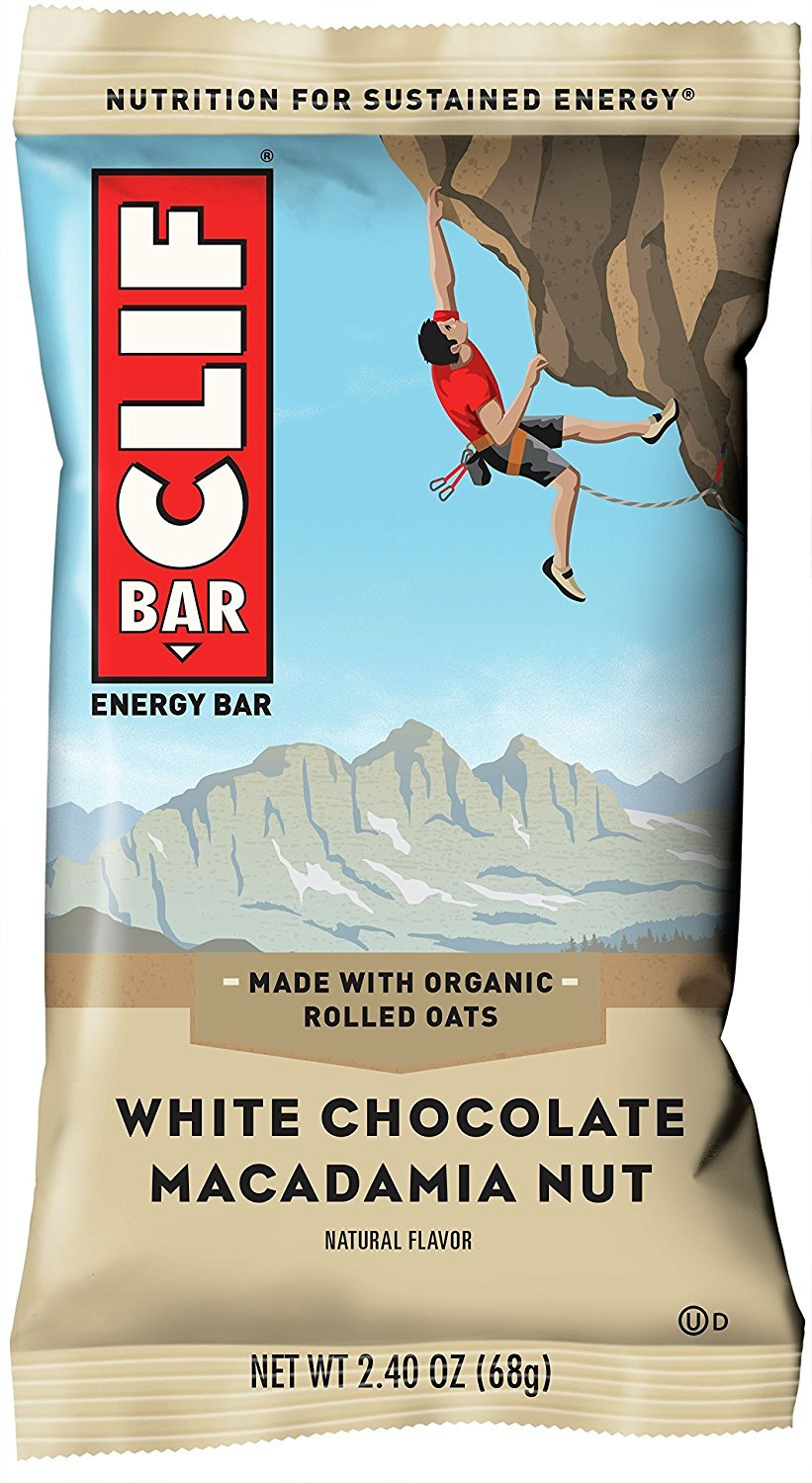 CLIF BAR - Energy Bar - White Chocolate Macadamia - (2.4 Ounce Protein Bar, 12 Count) - Pack of 5 by Clif Bar (Image #2)