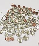 HOTFIX Swarovski CRYSTAL CLEAR (001) 144 pieces 2058/2078 Crystal Flatbacks rhinestones mixed with Sizes ss6, ss10, ss12, ss16, ss20, ss30