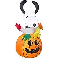 Gemmy Airblown Inflatable Snoopy Pumpkin